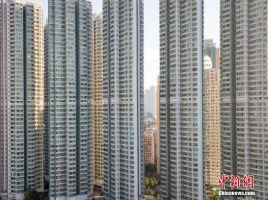 """香港住宅售价指数""""五"""
