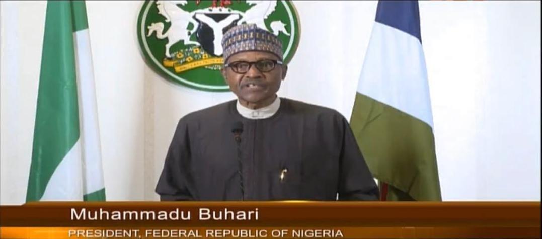 △图为尼日利亚总统布哈里