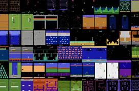 DeepMind首次在所有57款雅达利游戏上超越人类玩家