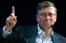 身家1100亿美元!比尔・盖茨再成世界首富