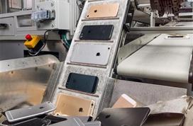 """苹果公布新款""""iPhone杀手"""":每小时拆解200部手机"""