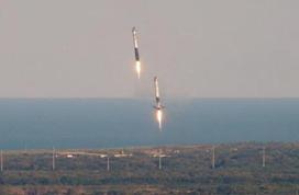 SpaceX发射首批60颗卫星 将用于建设太空互联网