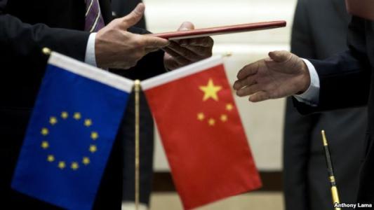 """列为首要合作对象!贸易战背景下,欧盟向中国递上""""大单"""""""