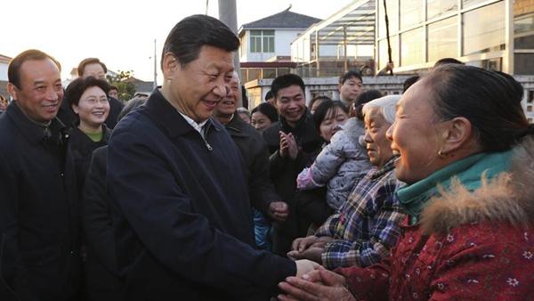 """习近平""""三农""""金句:增加农民收入是关键"""