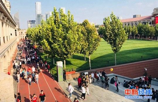 资料图:天津五大道景区 中新经纬 张澍楠摄