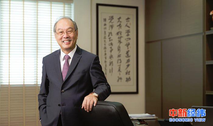 新加坡中国商会会长胡进胜。